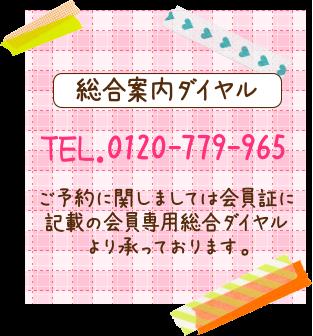 総合案内ダイヤル 0120-868-846